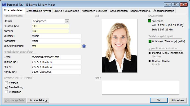 Wer ist anwesend und verfügbar? EVOworkforce liefert Ihnen die Transparenz bezüglich Ihrer personellen Ressourcen.